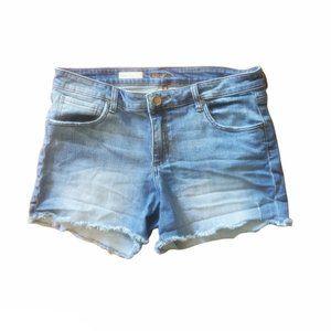 kut from the kloth gidget frey short 12 jean short